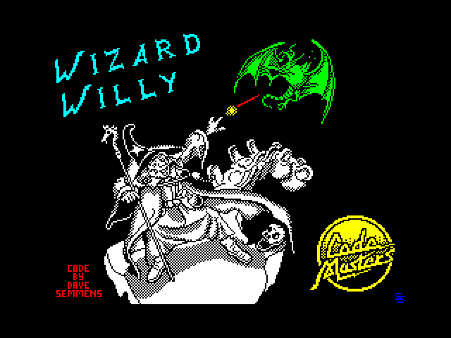 Wizard Willy screen