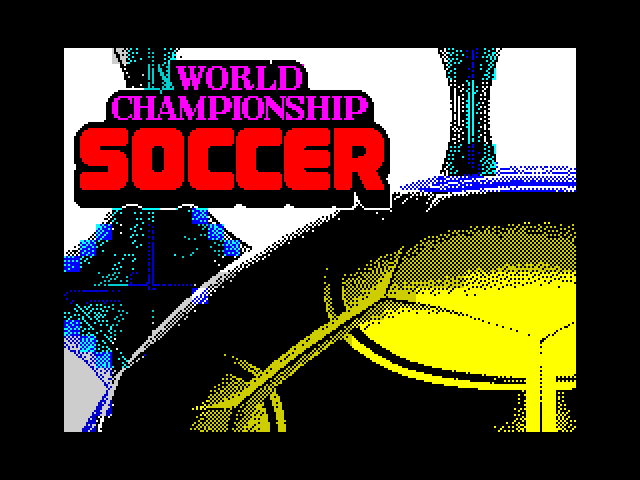 World Championship Soccer screenshot