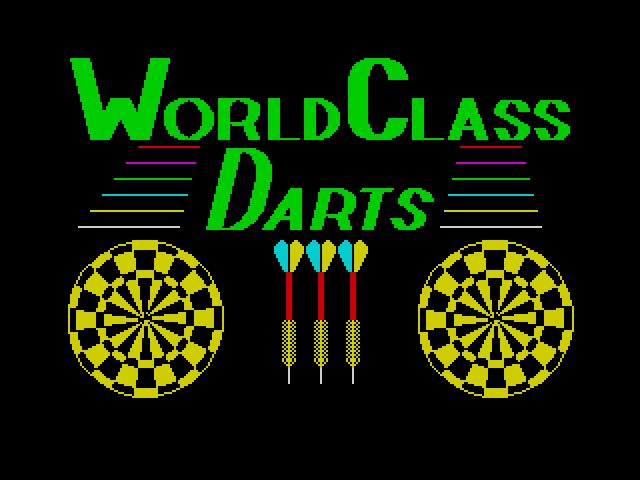 World Class Darts screen