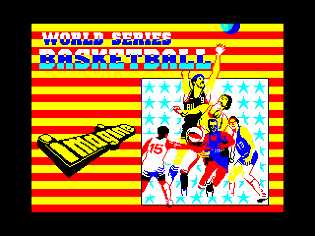 World Series Basketball screenshot
