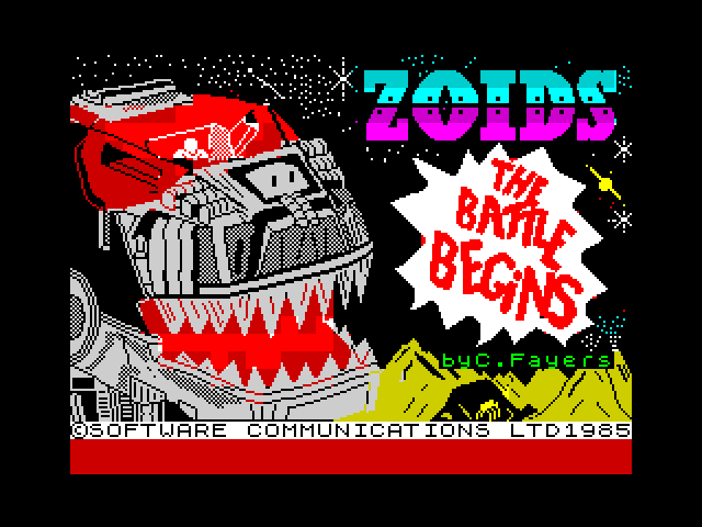 Zoids: The Battle Begins image, screenshot or loading screen