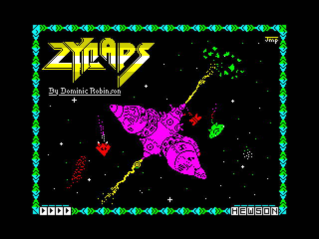 Zynaps image, screenshot or loading screen