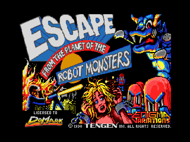 Escape from the Planet of the Robot Monsters image, screenshot or loading screen