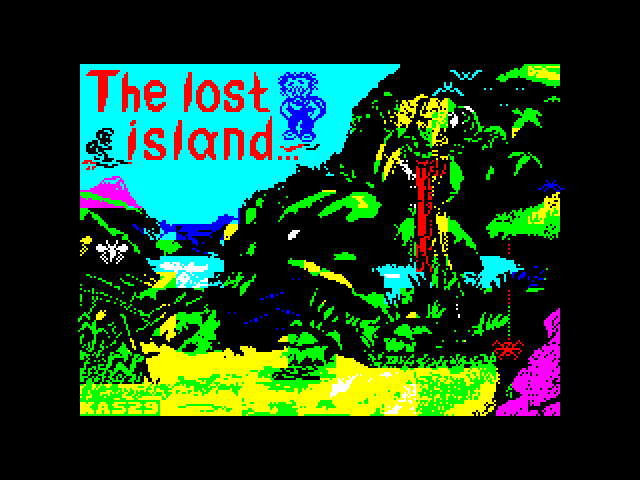 The Lost Island image, screenshot or loading screen