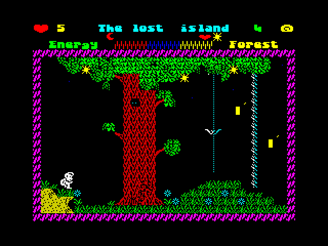 The Lost Island screen