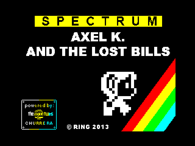 Axel K. and the Lost Bills screen