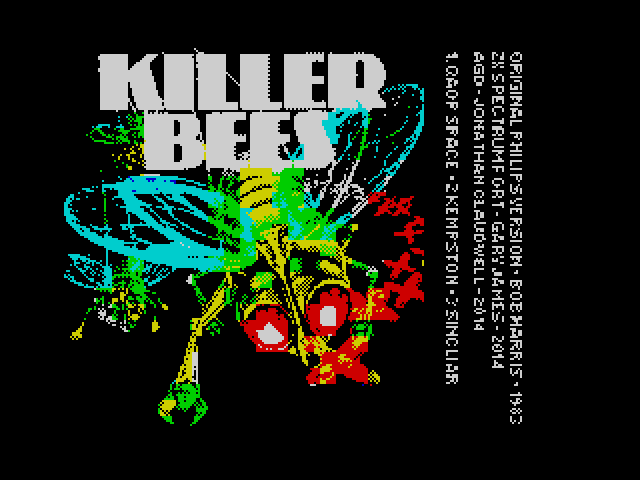 Killer Bees image, screenshot or loading screen