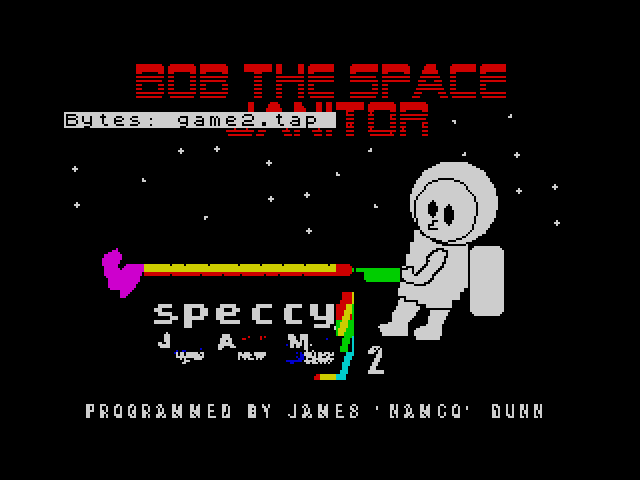 Bob the Space Janitor screen
