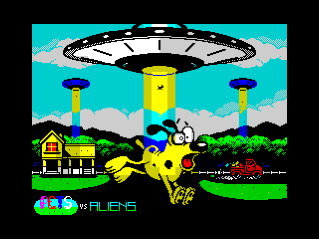 Pets vs Aliens Prologue screen