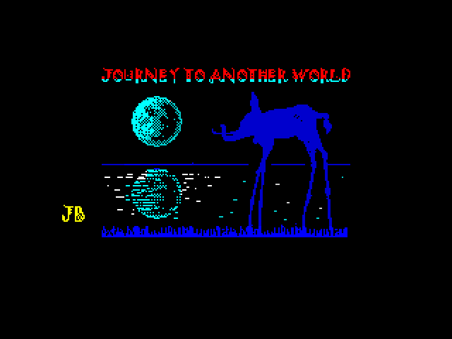 Journey to Another World screen