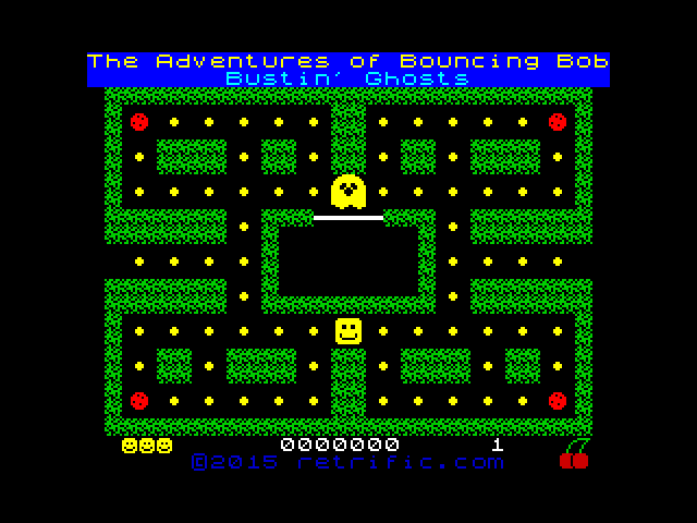 The Adventures of Bouncing Bob - Bustin' Ghosts image, screenshot or loading screen