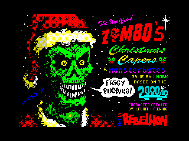 Zombo's Christmas Capers screen