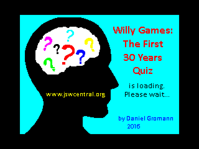 Willy Games: The First 30 Years Quiz screenshot