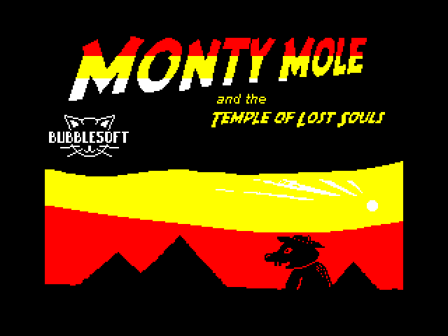 Monty Mole and The Lost Souls image, screenshot or loading screen