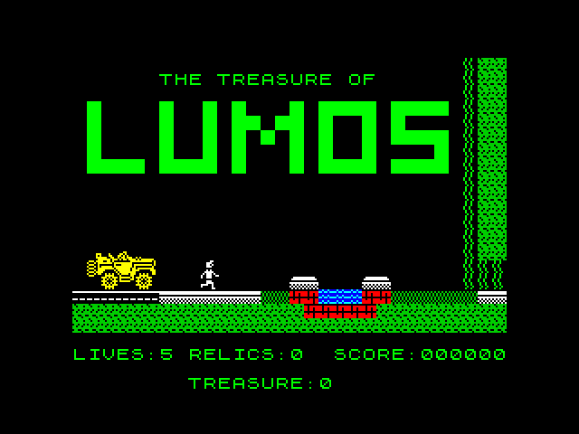 The Treasure of Lumos screen