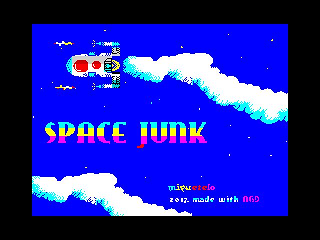 Space Junk screen