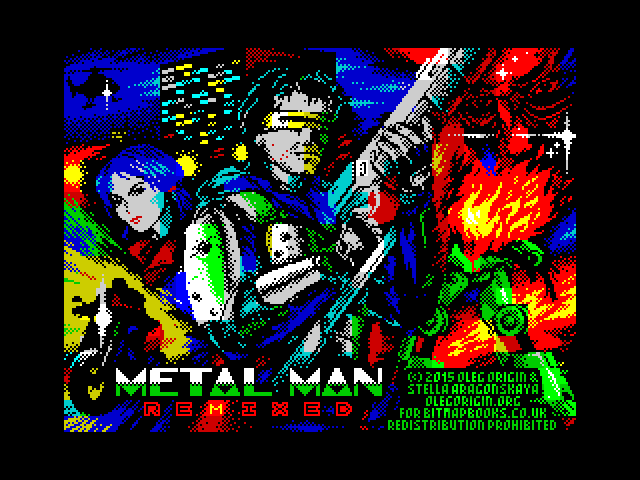 Metal Man Remixed screenshot