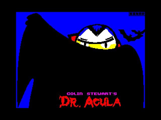 Colin Stewart's Dr. Acula screen