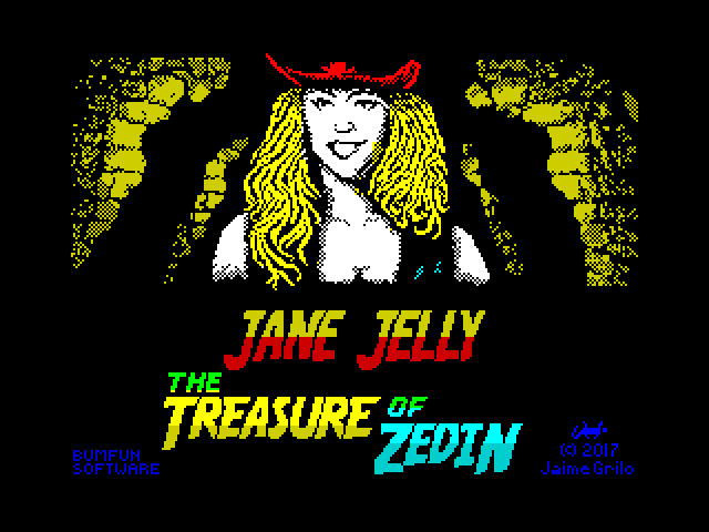 The Adventures of Jane Jelly: The Treasure of Zedin screen