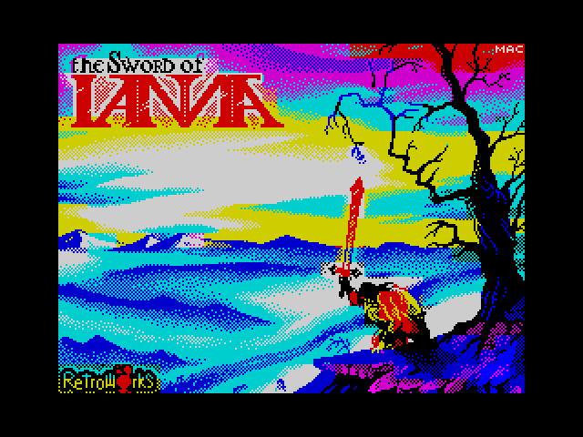 The Sword of IANNA screenshot