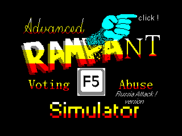 [CSSCGC] Advanced Rampant Voting Abuse Simulator - Russia Attack! image, screenshot or loading screen