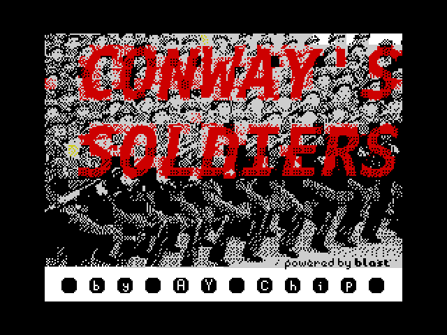 [CSSCGC] Conway's Soldiers screen