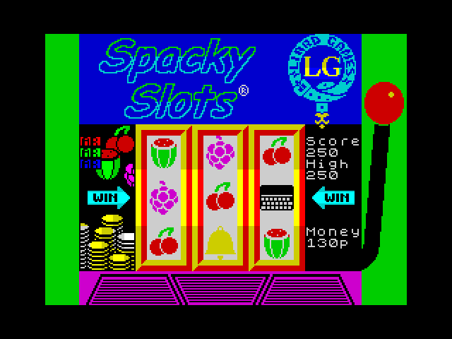 [CSSCGC] Spacky Slots screen
