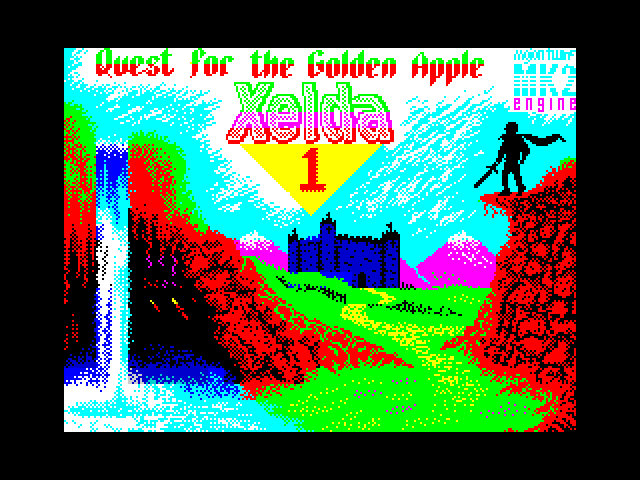 Xelda 1: Quest for the Golden Apple screen