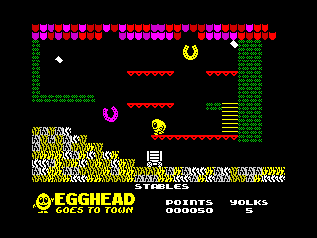 Egghead 6: Egghead Goes to Town image, screenshot or loading screen