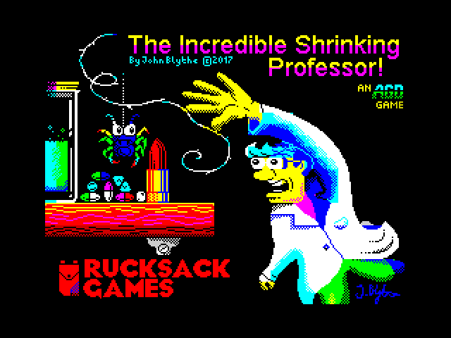 The Incredible Shrinking Professor screenshot