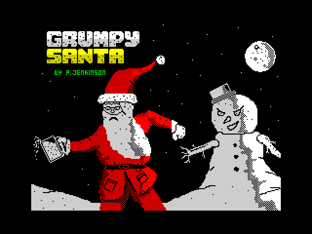 Grumpy Santa image, screenshot or loading screen