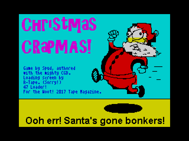 Christmas Crapmas screen