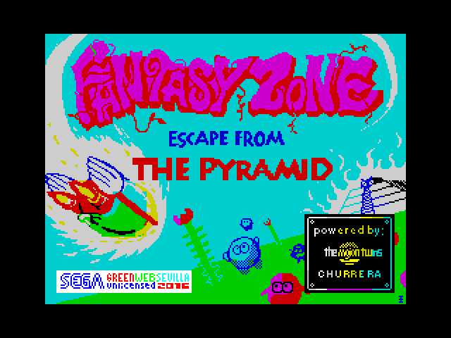 Fantasy Zone - Escape from the Pyramid image, screenshot or loading screen