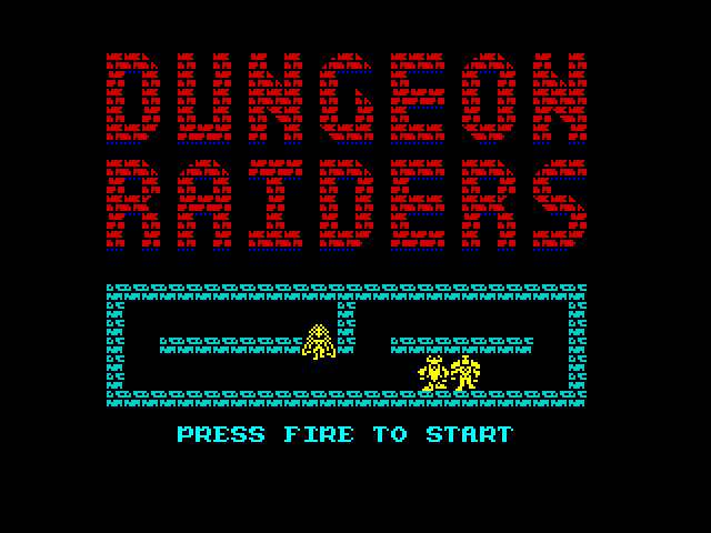 Dungeon Raiders screen
