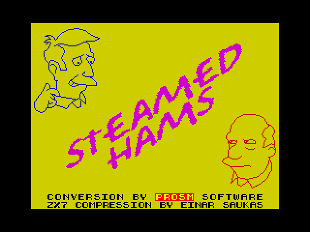 Steamed Hams screen