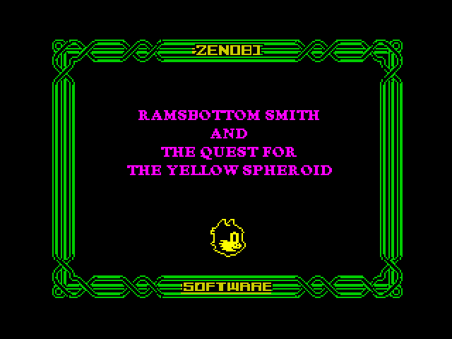 Ramsbottom Smith and The Quest For The Yellow Spheroid image, screenshot or loading screen