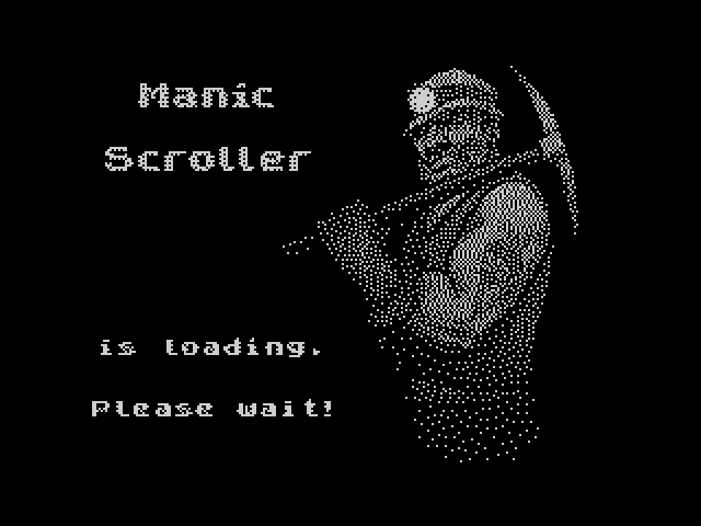 Manic Scroller screen