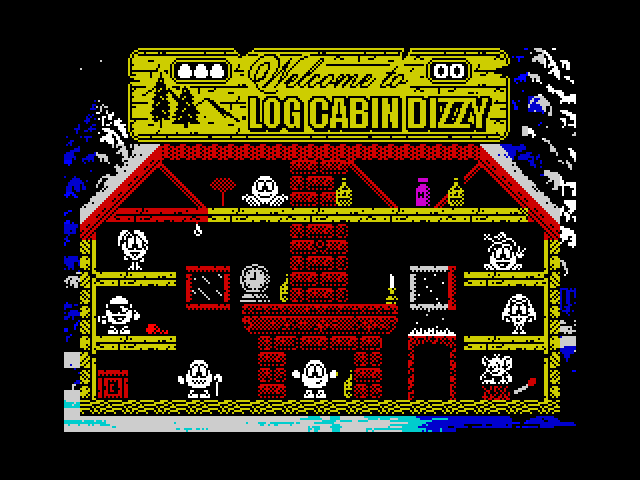 Log Cabin Dizzy image, screenshot or loading screen
