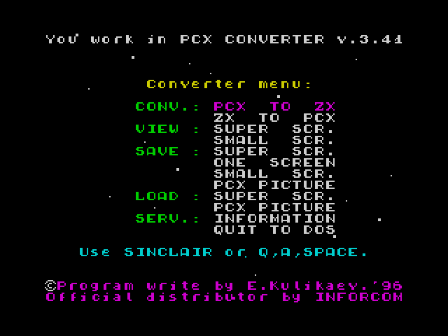PCX Converter 128 image, screenshot or loading screen
