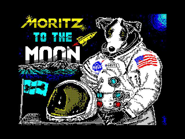 Moritz to the Moon image, screenshot or loading screen