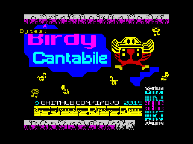 Birdy Cantabile screen