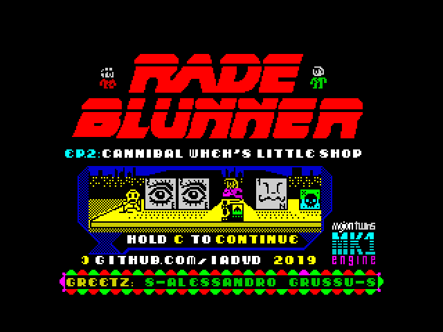 Rade Blunner, Episode 2: Cannibal Wheh's Little Shop screenshot