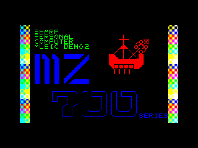 MZ 700 Demo Part 2 screenshot