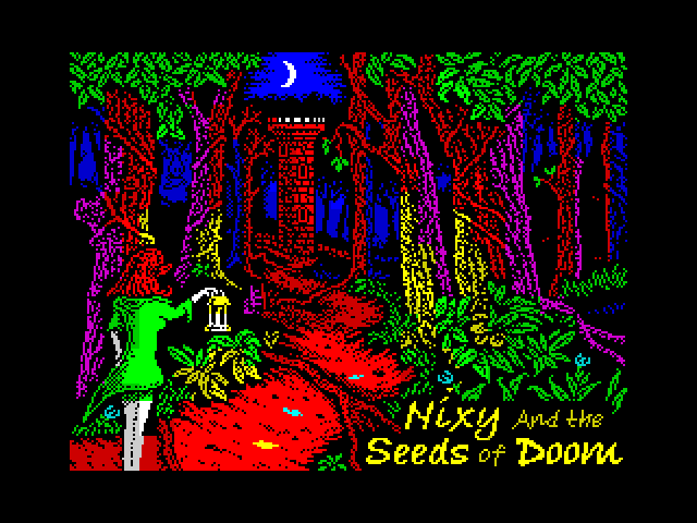 Nixy and the Seeds of Doom screen