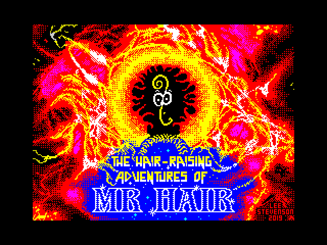 The Hair-Raising Adventures of Mr Hair screen