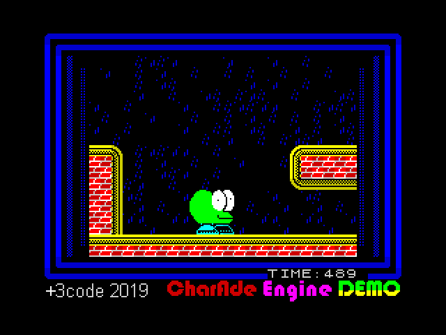 Charade Engine Demo screen