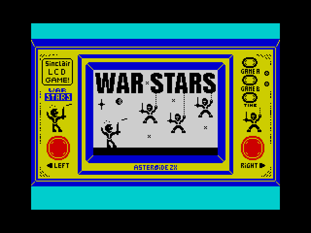 War Stars screen