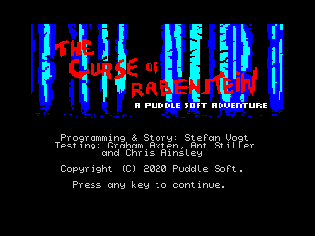The Curse of Rabenstein image, screenshot or loading screen