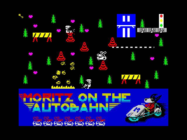 Moritz on the Autobahn image, screenshot or loading screen