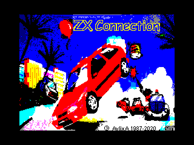 ZX Connection screen